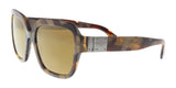 Dolce & Gabbana DG4336 31706H Havana Pear Square Sunglasses at