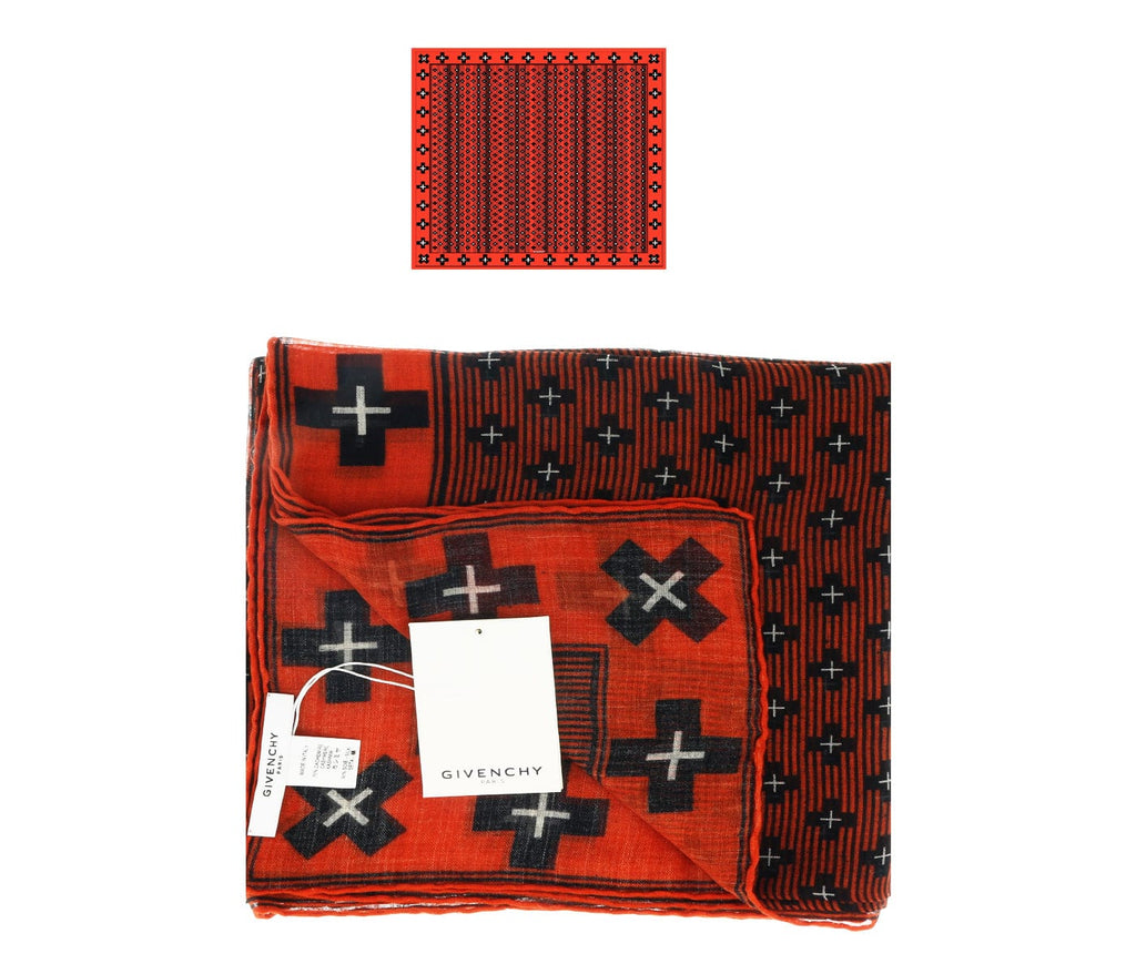 Givenchy 1212GV SD898 2 Red Scarf at