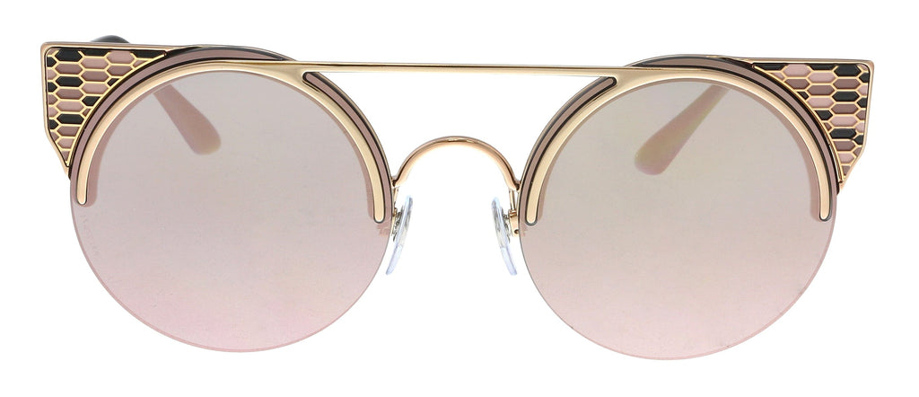 Bulgari  Pink Gold Cat Eye Sunglasses
