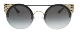 Bulgari  Black Gold Cat Eye Sunglasses