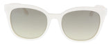 BOSS 0893/S 01GP- 6P White Square Sunglasses at 52.37