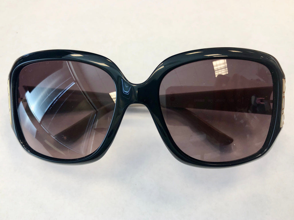 Salvatore Ferragamo SF666S 001 Black Square Sunglasses
