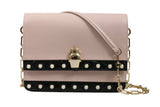 Roberto Cavalli HXLPAZ D96 Nude/Black Shoulder Bag at