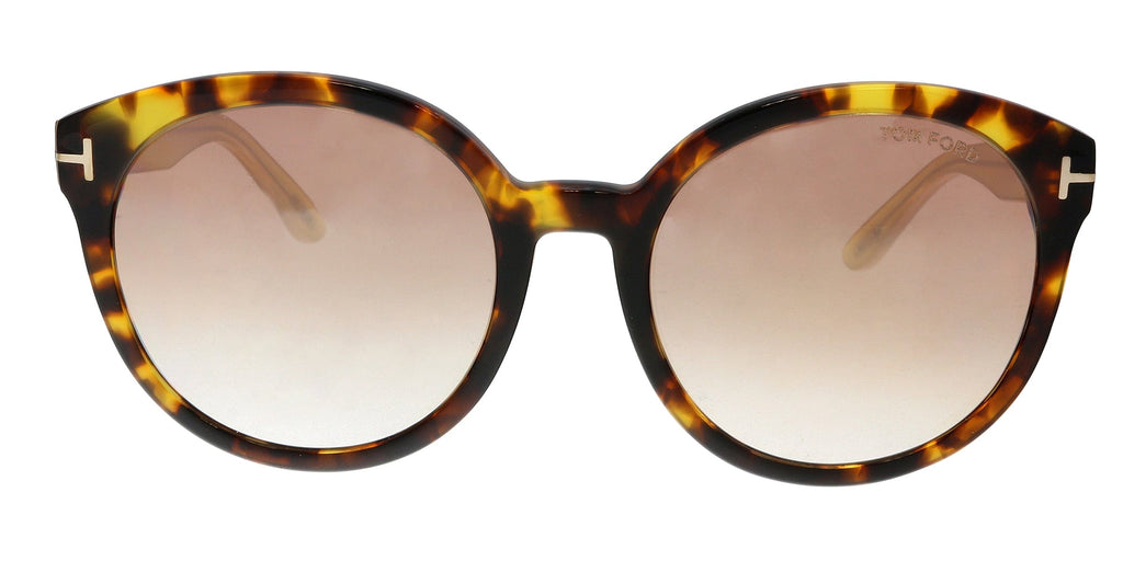Tom Ford FT0503 52Z Philippe Havana Round Sunglasses