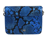 Roberto Cavalli HXLPG4 080 Blue Shoulder Bag