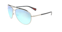 Salvatore Ferragamo SF842SA 103 Ivory  Oval Sunglasses