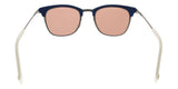 Fendi FF0228/S 0J2B Silver Red Rectangle Sunglasses at
