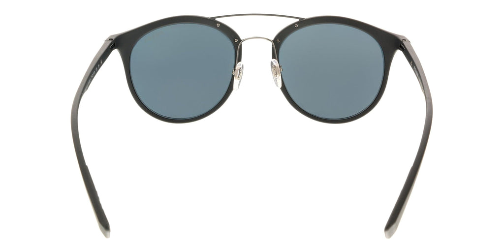 Prada Linea Rossa PS 04RS TFZ5T0 Black Round Sunglasses at