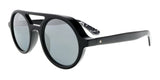 Jimmy Choo BOB/S 807 Black Round Sunglasses at 123.80