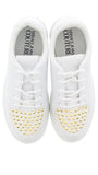 Versace Jeans Couture KIM White/Gold Sneakers