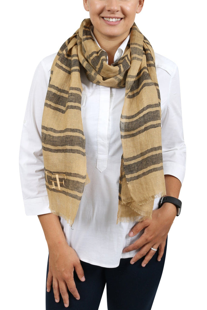 Gianfranco Ferre SCR92844/9 Mustard/Black  Scarf at 28.56