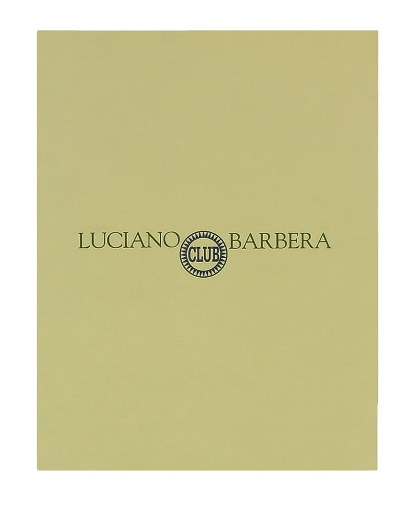 Luciano Barbera CLUB GINO NERO Black Leather Wallet at