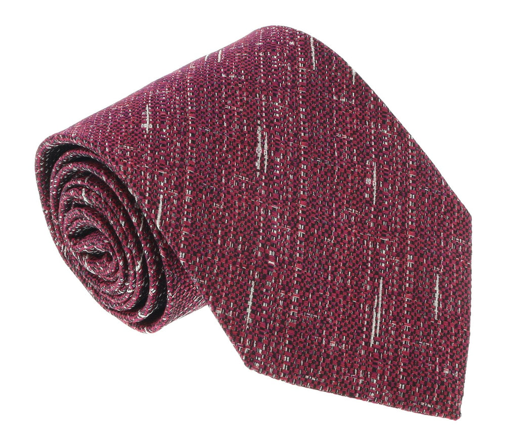 Missoni U4797 Red Graphic 100% Silk Tie at 43.80