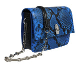 Roberto Cavalli  Blue Shoulder Bag