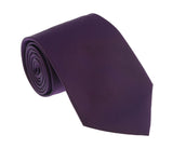 Roberto Cavalli ESZ019 D0979 Purple Solid Tie at 38.09