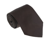 Roberto Cavalli ESZ019 03523 Dark Brown Solid Tie at 38.09