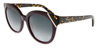 FENDI FF 0248/S 01ED Green Round Sunglasses