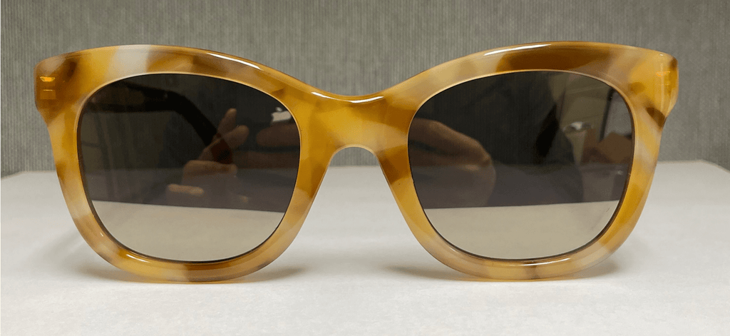 Givenchy  Light Tortoise Square Sunglasses