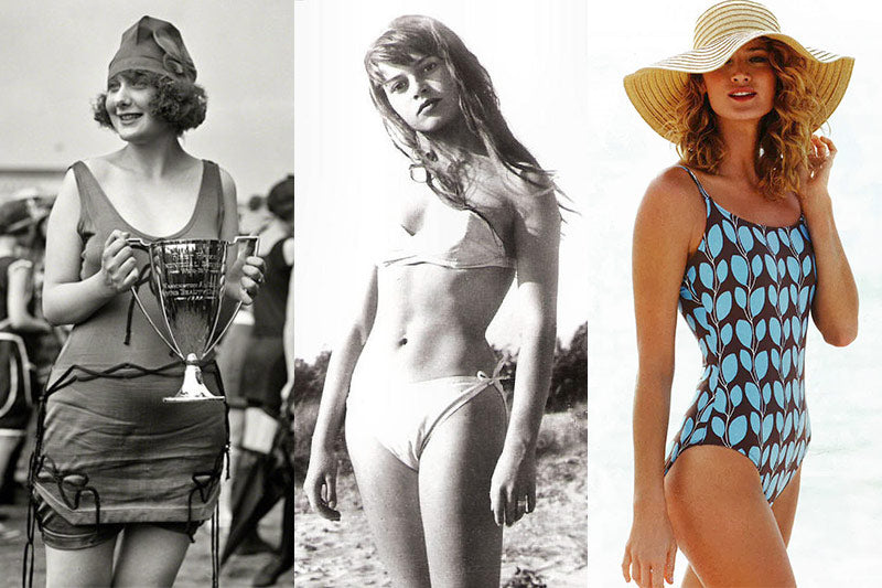 Swimwear trends throughout the years