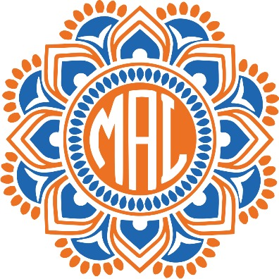 Two Color Monogram Mandala - Sweet Southern Sparkle