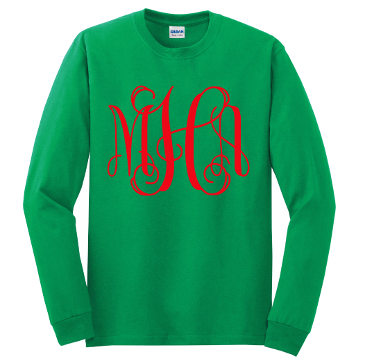 Monogram Long Sleeve Tee