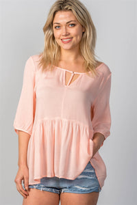 Sarah Baby Doll Top - Sweet Southern Sparkle