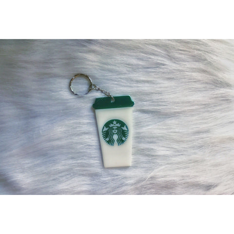 Coffee Cup Key chain - Sweet Southern Sparkle