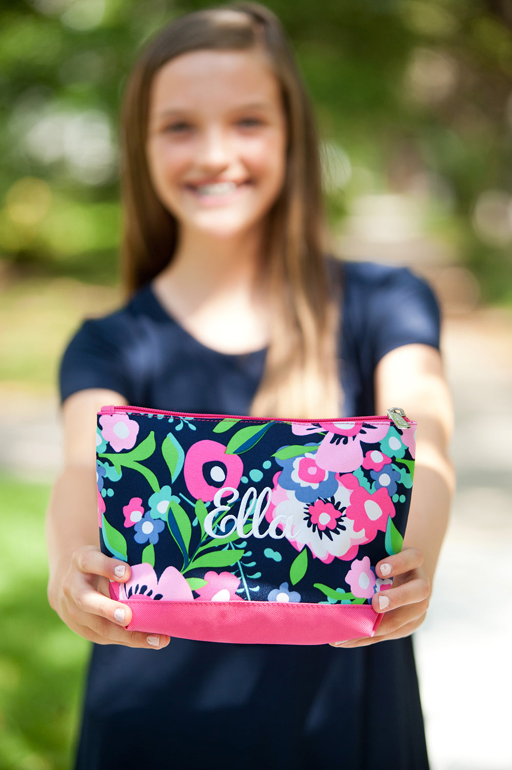 Monogram Posie Cosmetic Bag