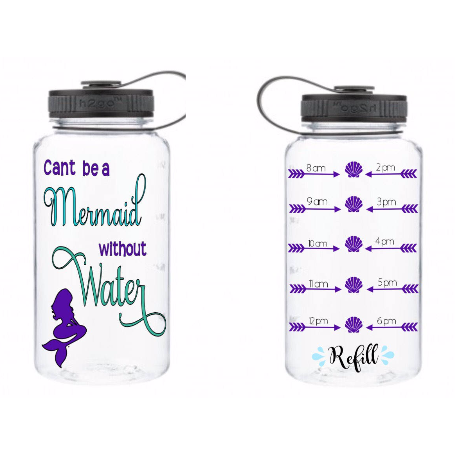 Can't be a Mermaid Waterbottle - Sweet Southern Sparkle