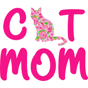 Lilly Inspired Cat Mom Decal - Sweet Southern Sparkle