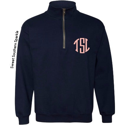 Monogram Pullover - Sweet Southern Sparkle