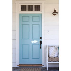 Hello Door Decal - Sweet Southern Sparkle