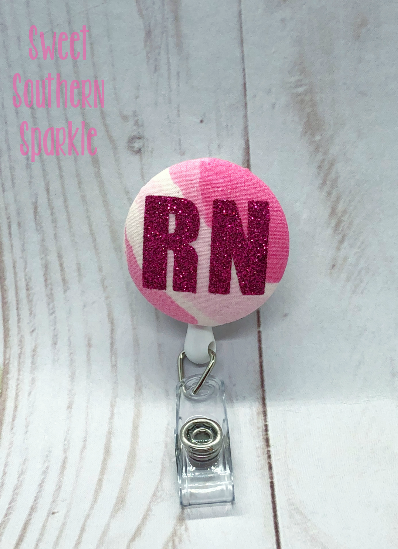 Badge Reel Nurse| Nursing Gift| Badge Holder| Nursing| Nurse| Registered Nurse| icu| picu|nicu|Labor and Delivery|ID Badge| Lilly Pulitzer