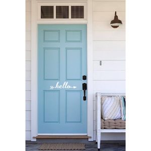 Hello Arrow Door Decal - Sweet Southern Sparkle