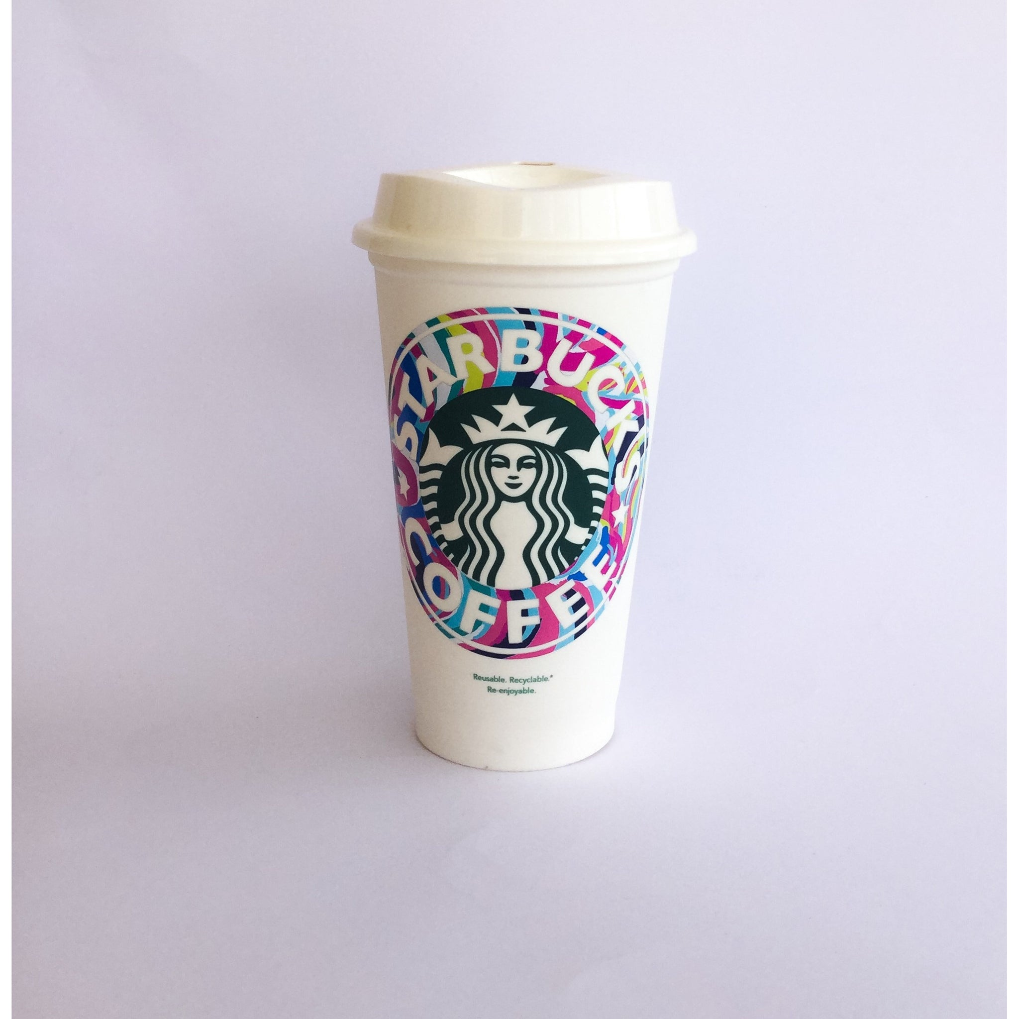 Lilly Starbucks Coffee Cup - Sweet Southern Sparkle