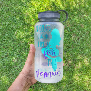Drink like a fish Water bottle - Sweet Southern Sparkle