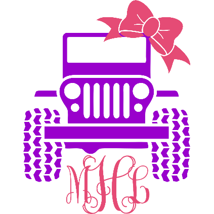 Jeep Bow Decal