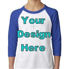 Kids- Design Your Own Raglan - Sweet Southern Sparkle