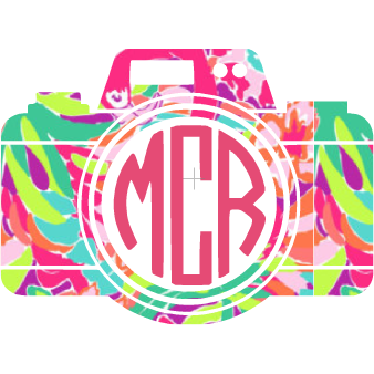 Lilly Monogram Camera - Sweet Southern Sparkle