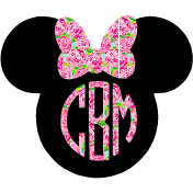Lilly Mouse Decal - Sweet Southern Sparkle