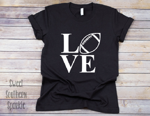 Love Football Tee - Sweet Southern Sparkle