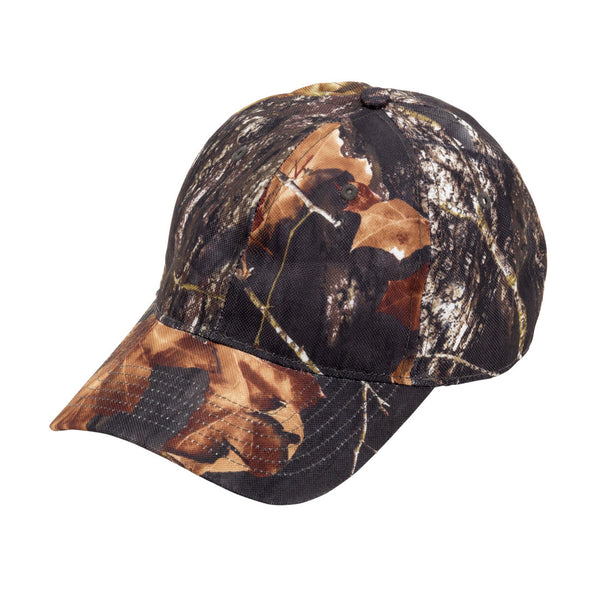 Camo Wood Monogram Cotton Blend Cap