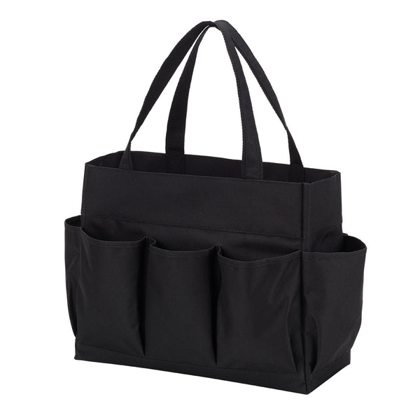 Black Utility Carry All Tote