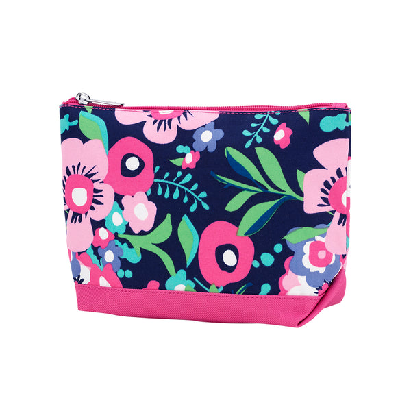 Floral Monogram Posie Cosmetic Bag