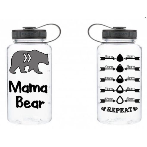 Mama Bear Water bottle - Sweet Southern Sparkle