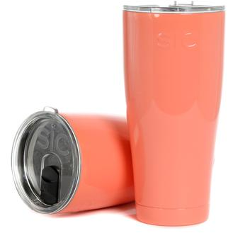 Personalized Salmon SIC Cup - Sweet Southern Sparkle