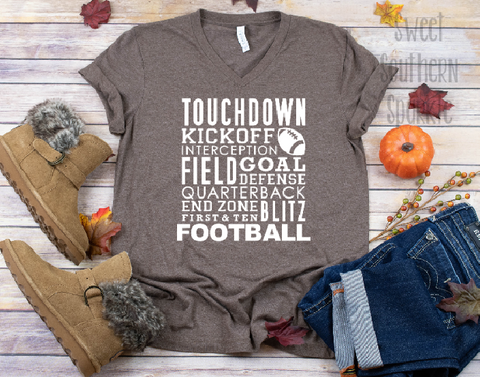 All Things Football Tee