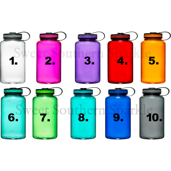 Water bottle color Chart