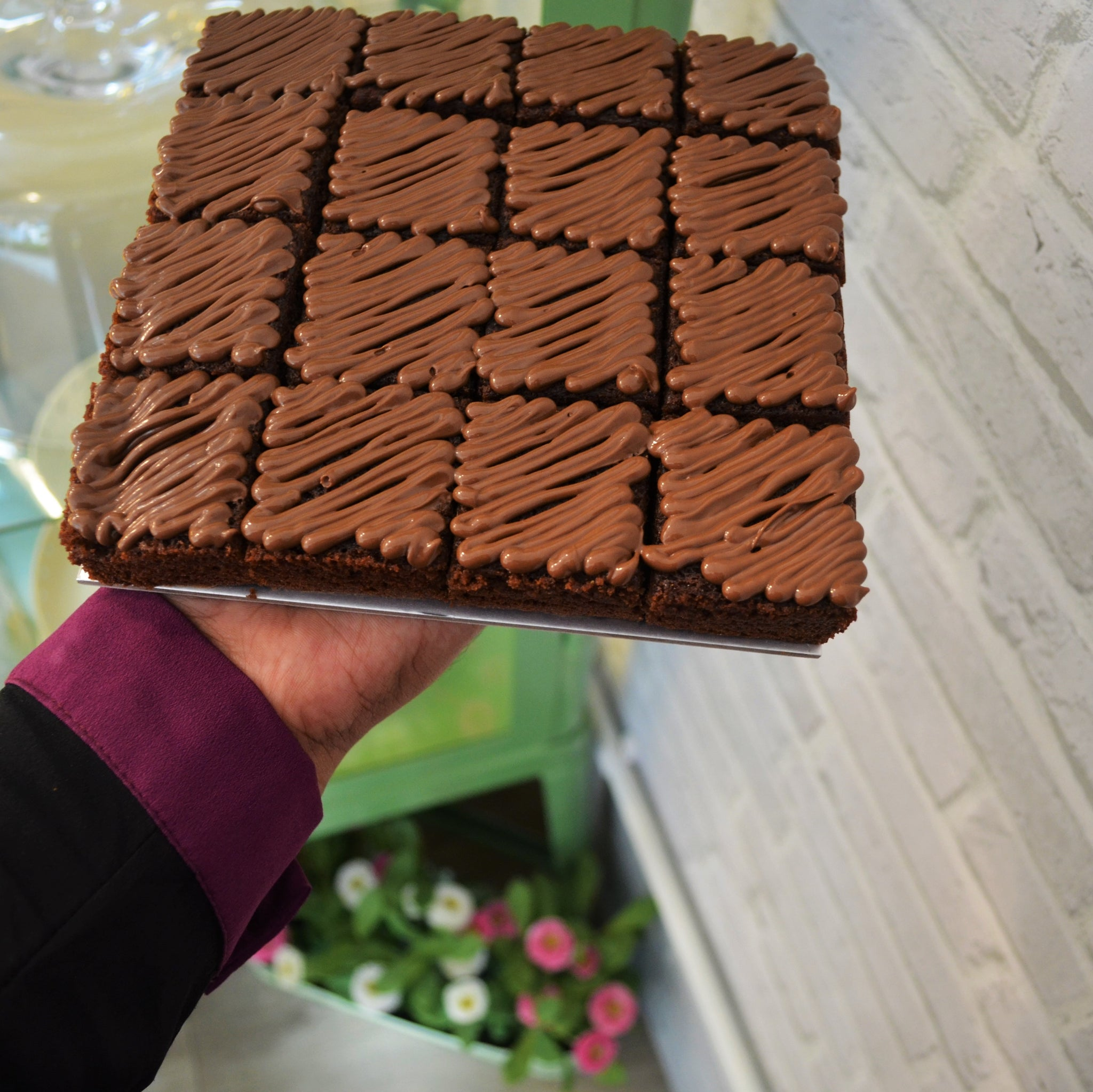 Nutella Brownies - Cake Delights Bakery