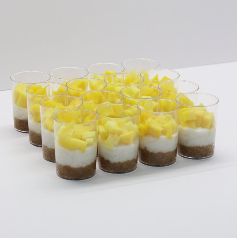 Mango Sticky Rice Shot - Cake Delights Bakery